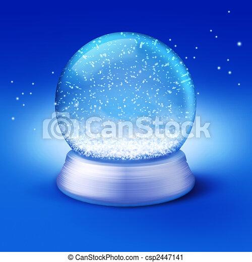 snow globe - csp2447141