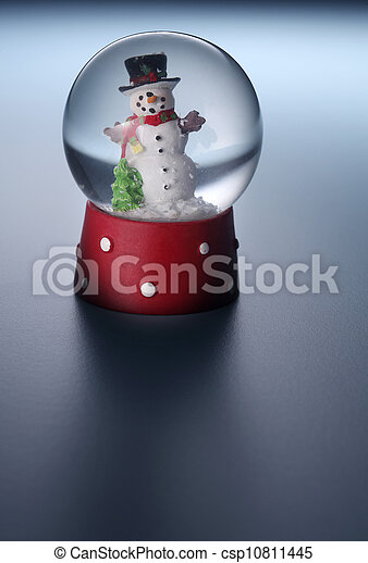 snow man - csp10811445