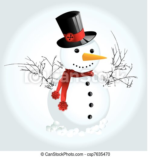 Snow Man  - csp7635470