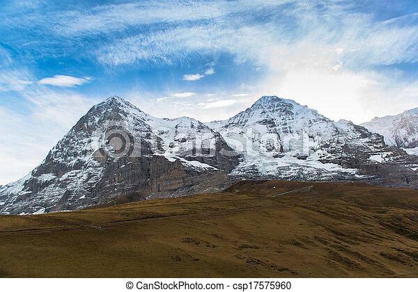Snow Mountain Landscape - csp17575960