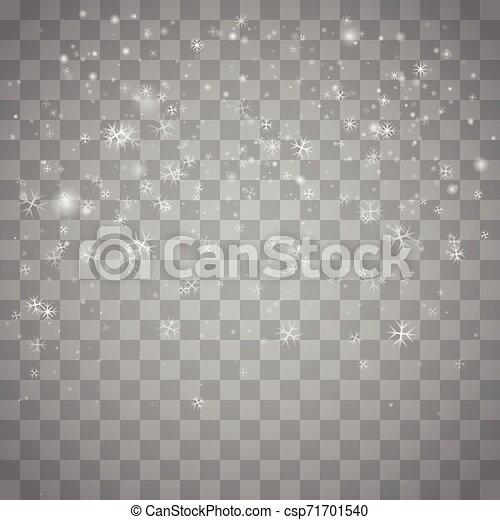Nieve navideña. - csp71701540