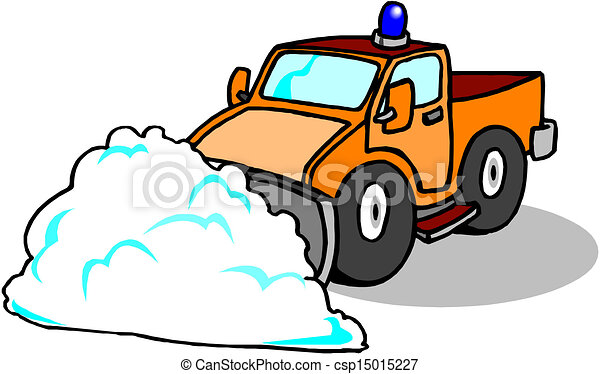 Snow Plough Clearing - csp15015227