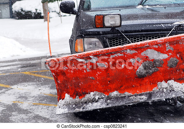Snow plow - csp0823241
