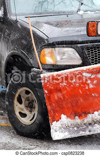 Snow plow - csp0823238