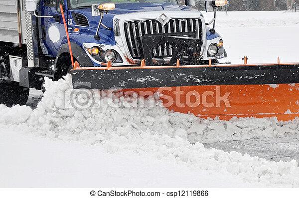Snow plow - csp12119866