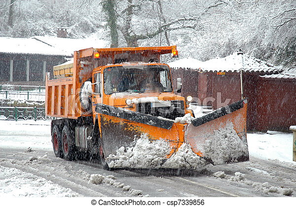 Snow Plow - csp7339856