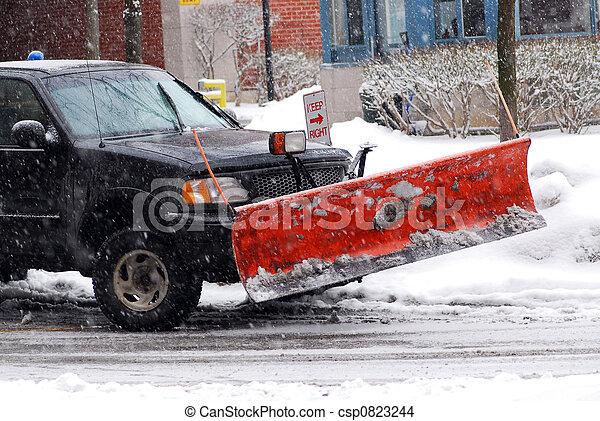 Snow plow - csp0823244