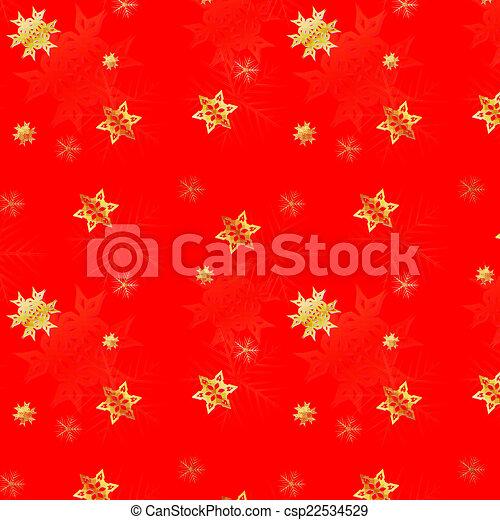 Snow seamless background - csp22534529