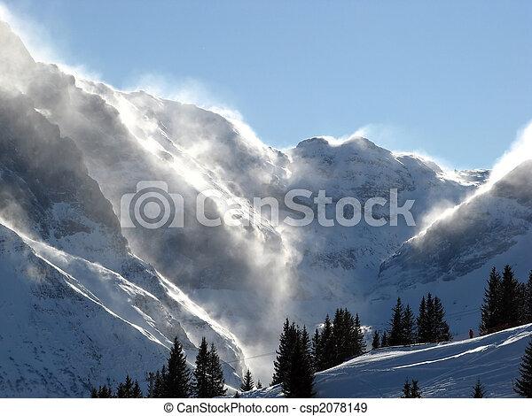 Snow storm - csp2078149