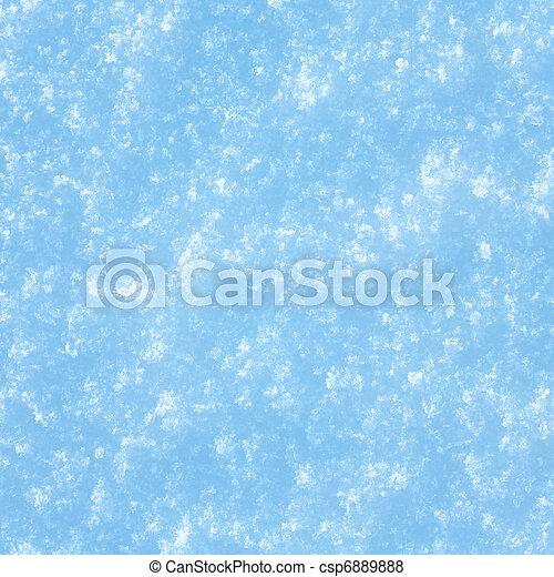 snow surface - csp6889888