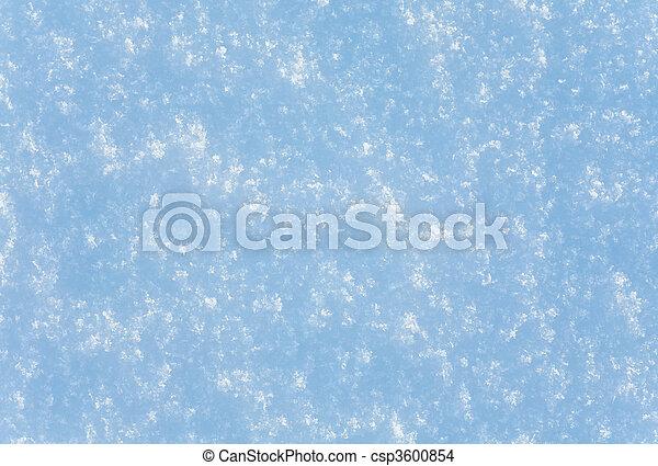 snow surface - csp3600854
