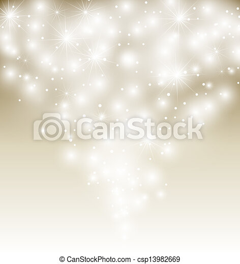 Snow vector Illustration. Winter background - csp13982669