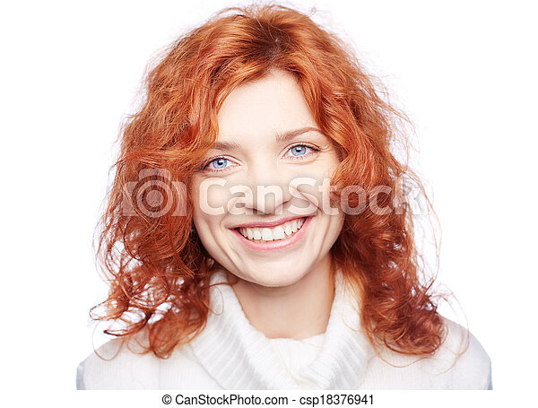Snow white smile - csp18376941