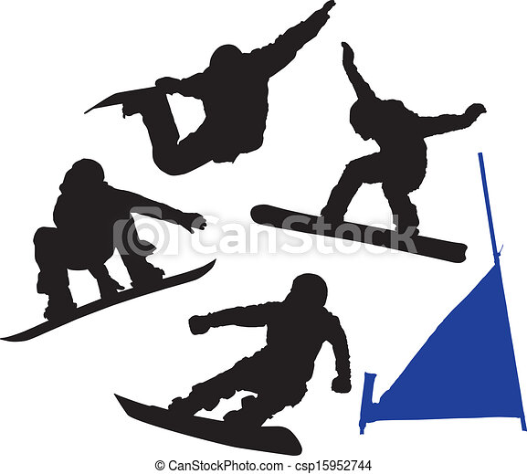snowboard silhouette on white background eps vector search clip rh canstockphoto com snowboard clipart images girl snowboard clipart