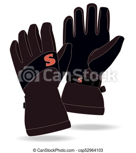 snowboard gloves - csp52964103