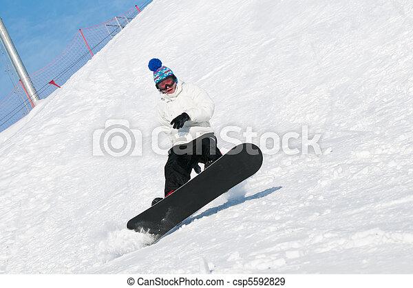 Extreme Sport Snowboard - csp5592829