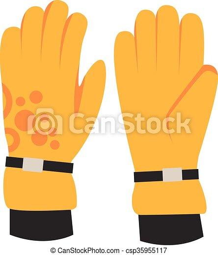 66cfbad72df Snowboard, sport, handske, elementara, kläder. Elementara, vinter ...