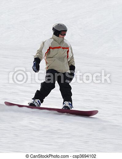 snowboarding - csp3694102