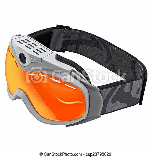 Schutzbrille für Snowboarden - csp23798620