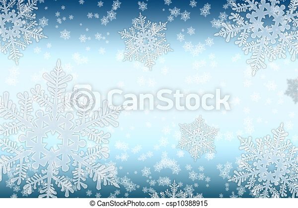 Snowfall - csp10388915
