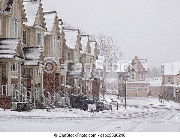 Snowfall - csp23530246