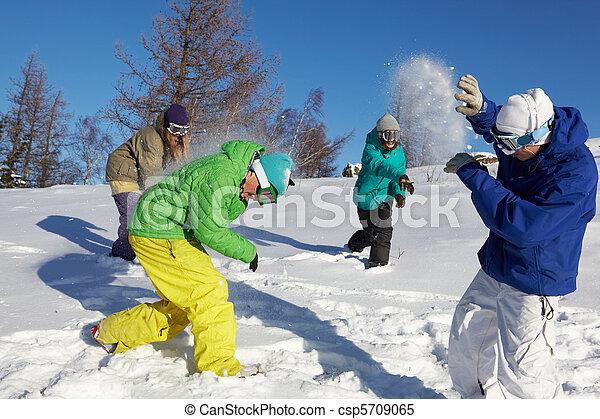 snowfight, interpretacja - csp5709065