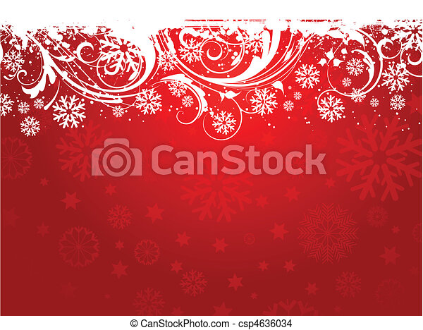 Snowflake background - csp4636034