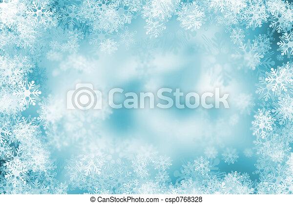 Snowflake background - csp0768328