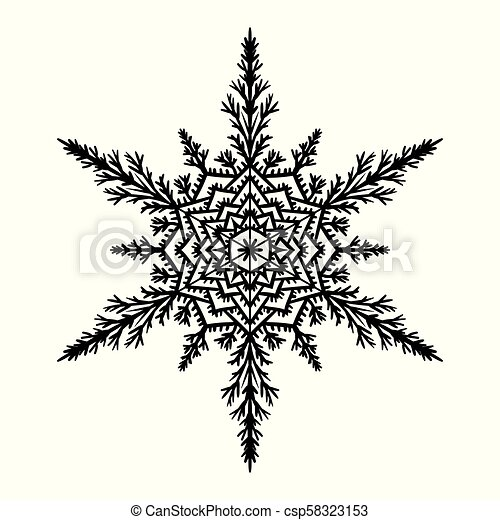 Snowflake Silhouette Snowflake On White Background Vector Illustration Canstock Free & premium silhouette snowflake stock photos, illustrations, vectors, templates and psd mockups. https www canstockphoto com snowflake 58323153 html