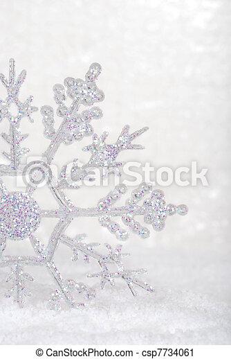 snowflake closeup - csp7734061