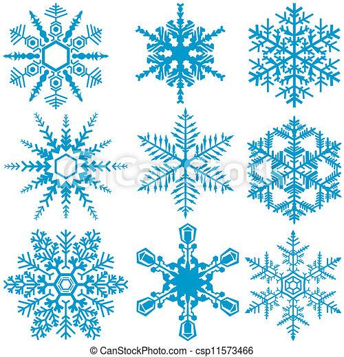 Snowflake Set - csp11573466