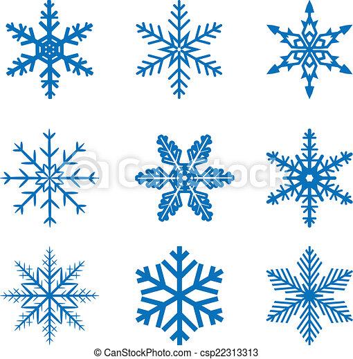 snowflake set - csp22313313