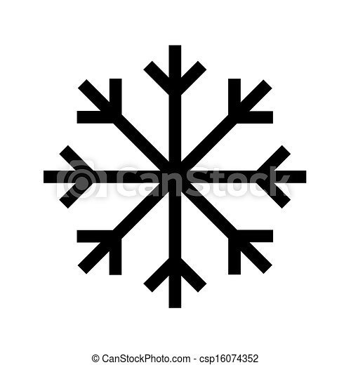 Snowflake Symbol Clipart Vector Search Illustration Drawings And
