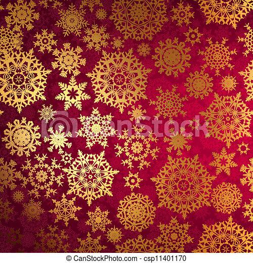 snowflakes., 8, eps, tło, boże narodzenie - csp11401170