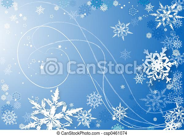 snowflakes dance - csp0461074