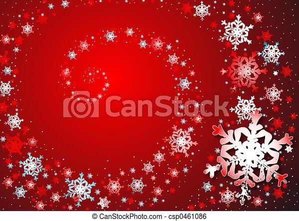 snowflakes dance - csp0461086