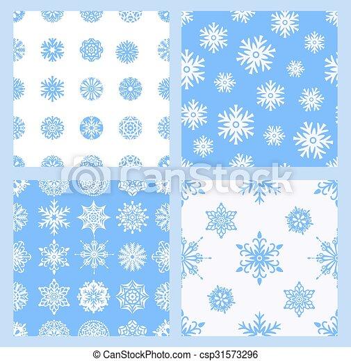 snowflakes - csp31573296