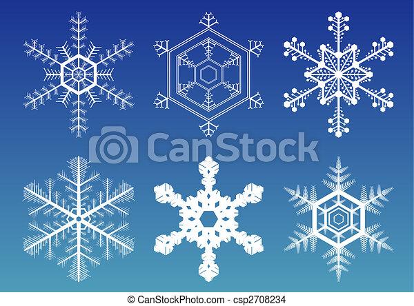 Snowflakes - csp2708234