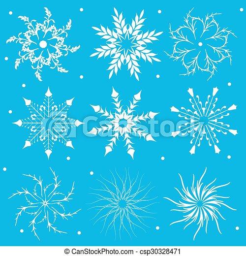 Snowflakes - csp30328471