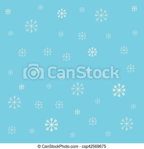 Snowflakes - csp42569675