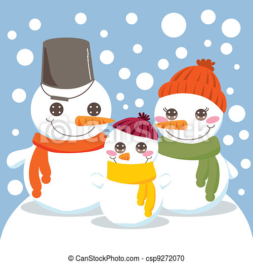 Snowman Family Illustrations And Clipart 1485 Royalty Free Drawings Graphics Available To Search From Thousands Of