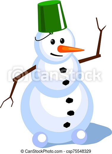 snowman - csp75548329