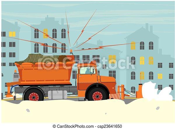 snowplow - csp23641650