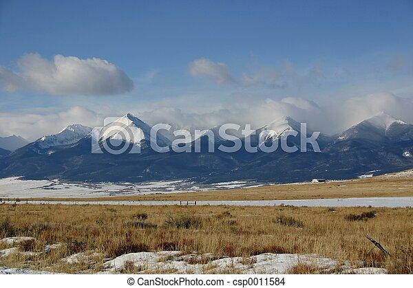 Snowy Mountains - csp0011584