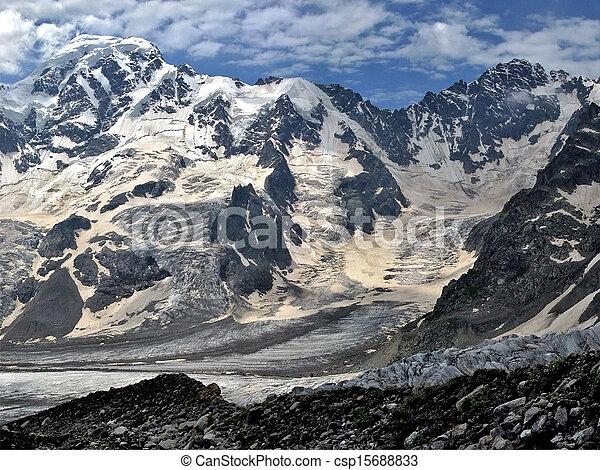 Snowy mountains - csp15688833