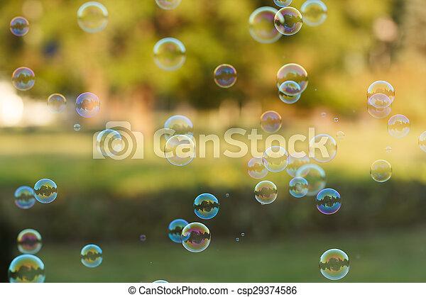Soap ball - csp29374586