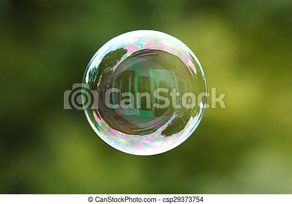 Soap ball - csp29373754