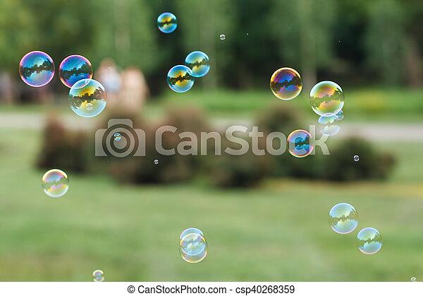 Soap ball - csp40268359