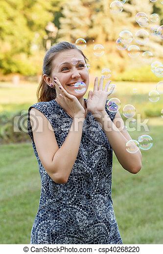 Soap ball - csp40268220