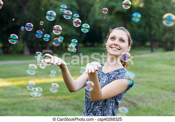 Soap ball - csp40268325